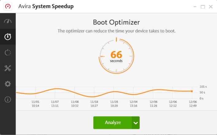 Avira System Speedup latest version