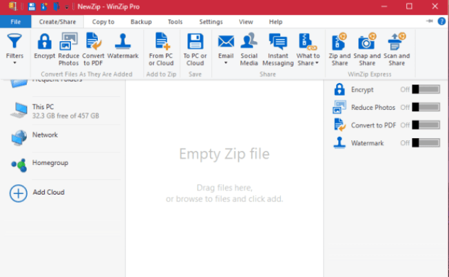WinZip Professional latest version
