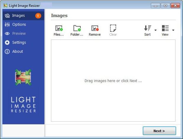 Light Image Resizer windows