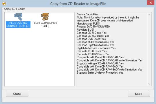 Clone CD windows
