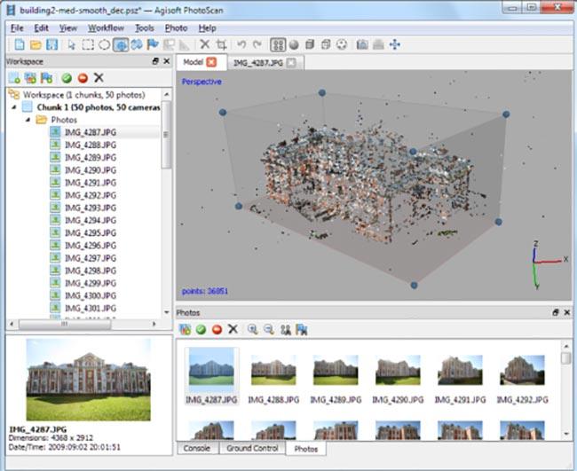 Agisoft PhotoScan Pro windows