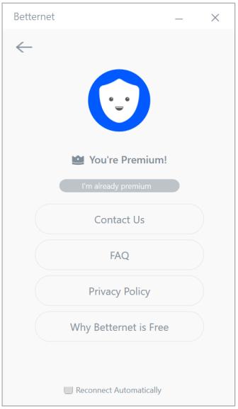 Betternet VPN Premium latest version