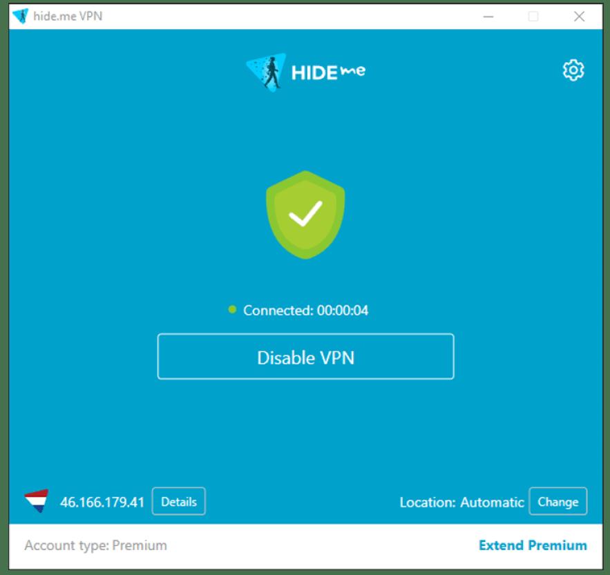 Hide.me VPN windows