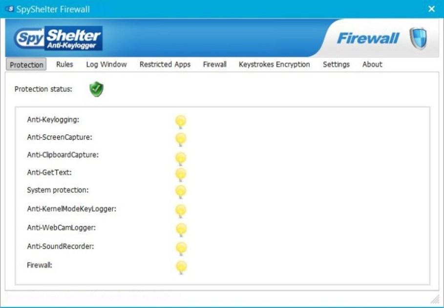 SpyShelter Firewall latest version