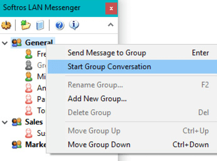 Softros LAN Messenger latesst version