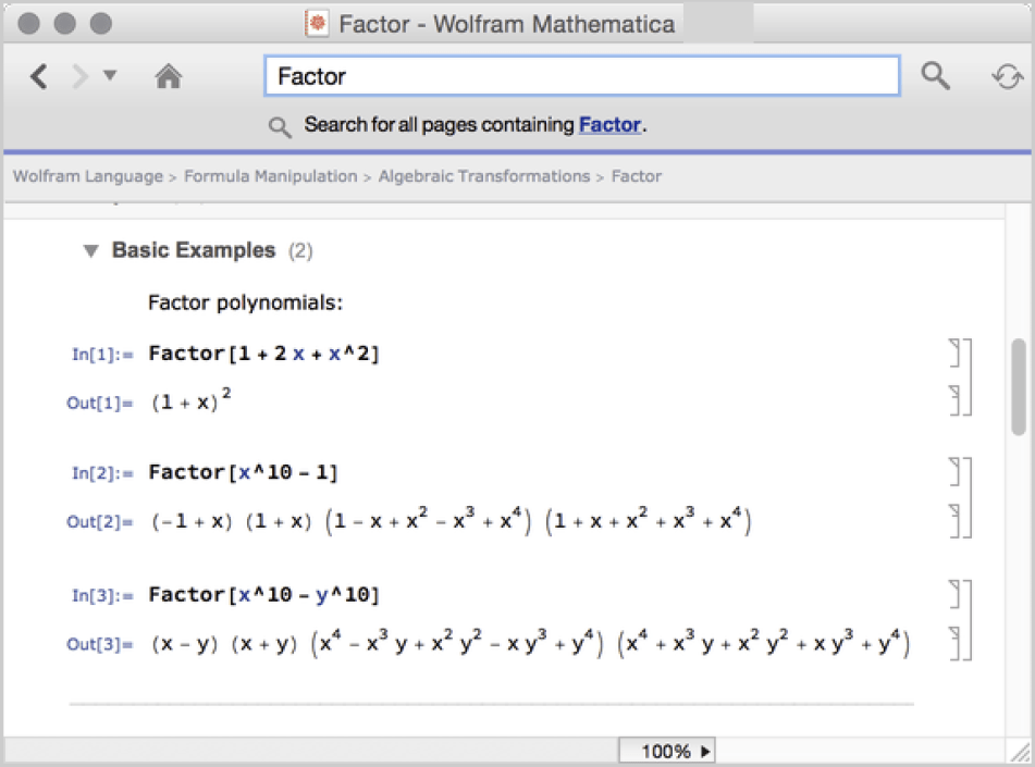 Wolfram Mathematica latest version