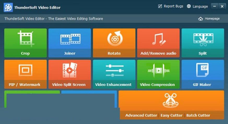 ThunderSoft Video Editor latest version