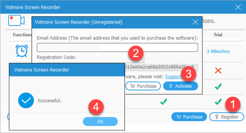 Vidmore Screen Recorder latest version