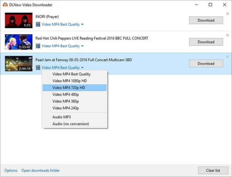 DLNow Video Downloader latest version