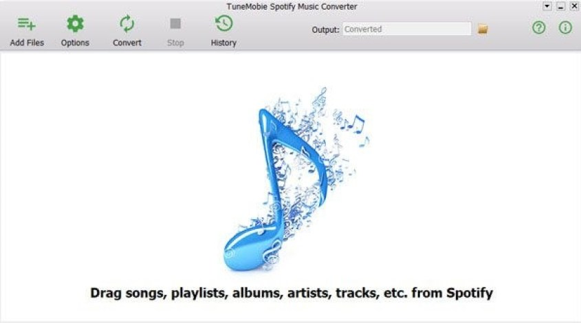 TuneMobie Spotify Music Converter windows