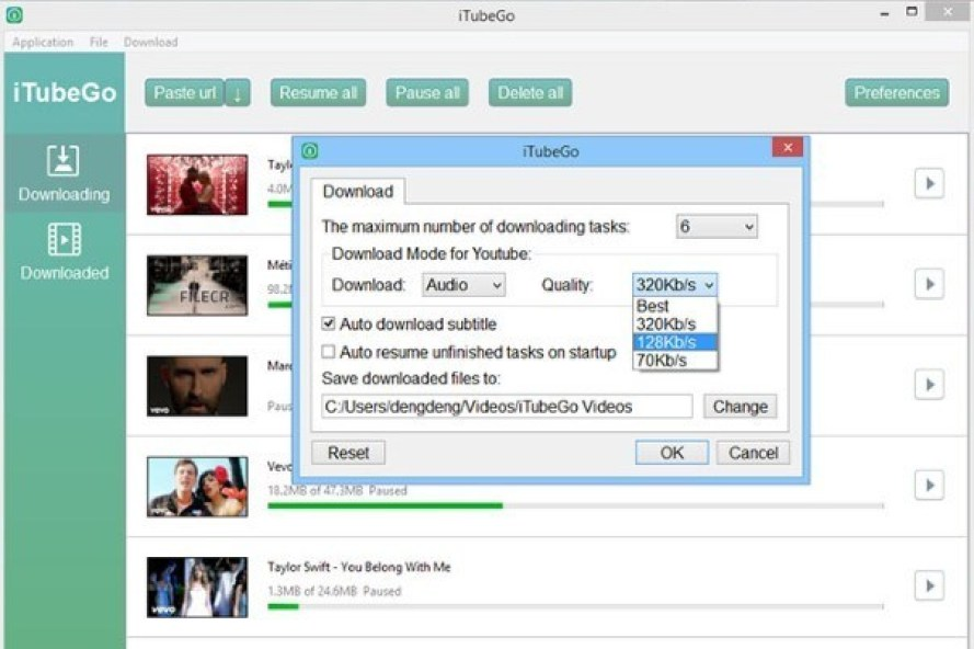 iTubeGo YouTube Downloader latest version