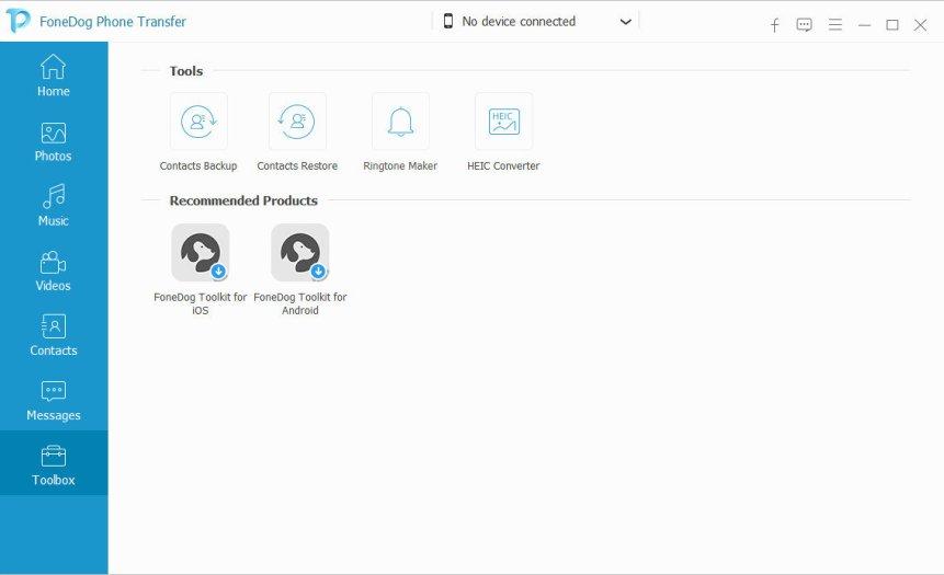 FoneDog Phone Transfer latest version