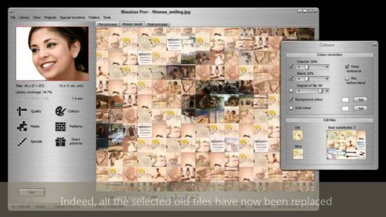 Mosaizer XV latest version