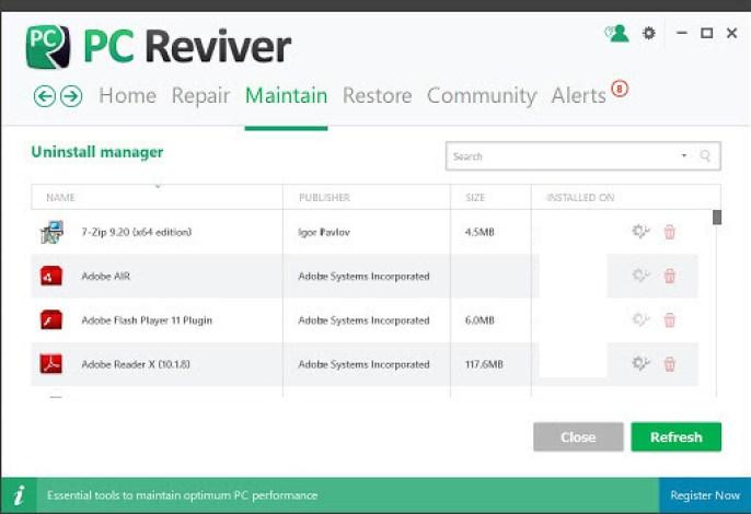 PC Reviver latest version