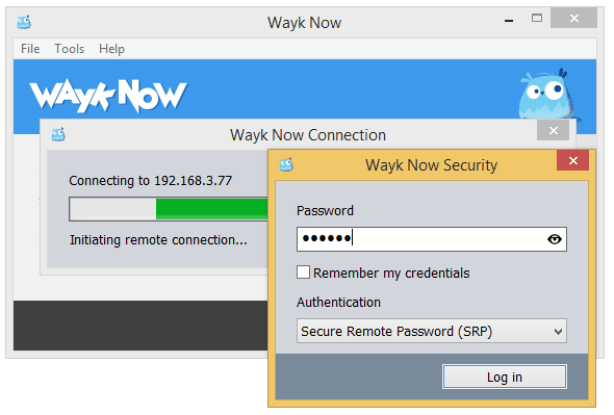 Wayk Now latest version