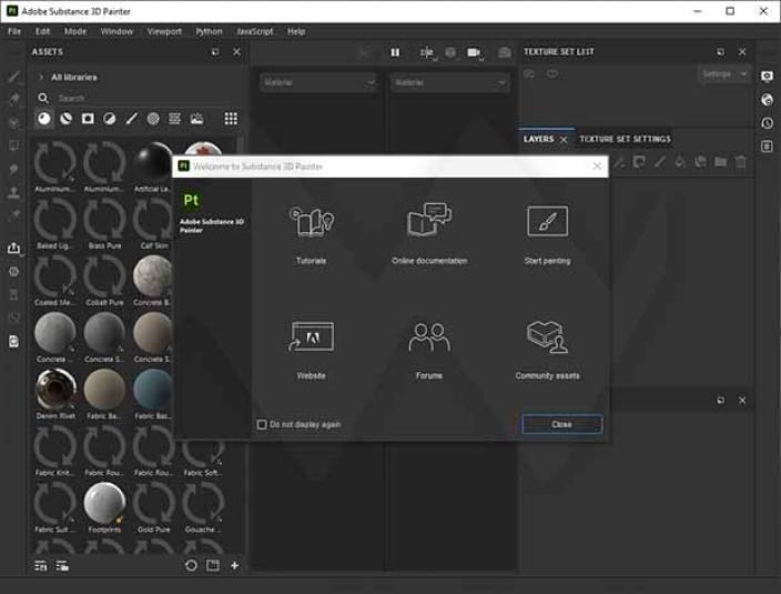 Adobe Substance 3D Painter windows