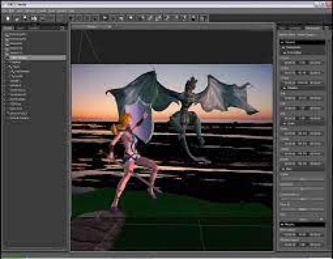 DAZ Studio Pro Edition windows