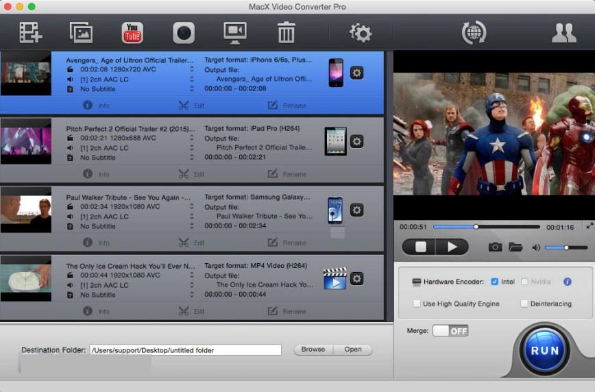 MacX Video Converter Pro windows