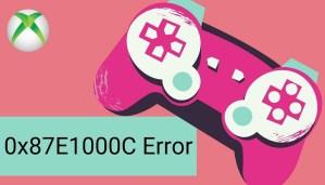0x87E1000C Error On Xbox Series X