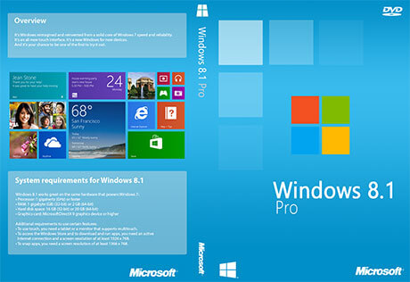 Windows 8.1 Pro ISO Download Free Full Version 32-64Bit