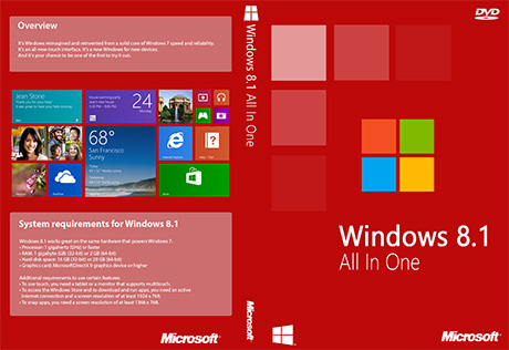 Microsoft Windows 8.1 All in One ISO Free Download