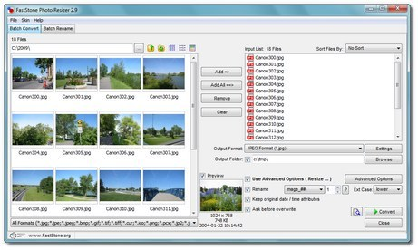 FastStone Photo Resizer V3.3