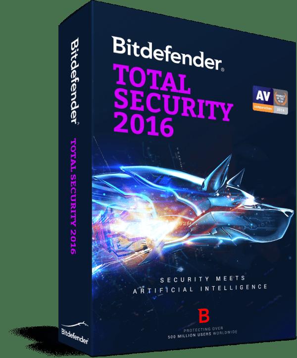 Bitdefender Total security 2016 free download