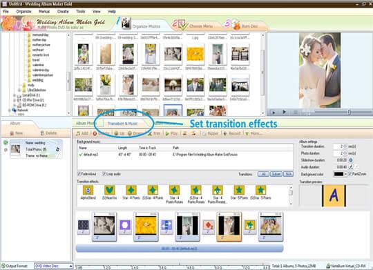 Wedding Album maker software online
