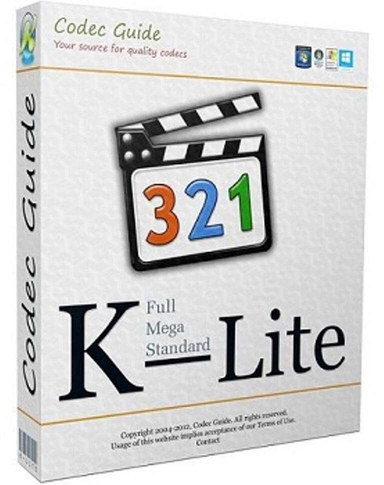 K Lite Codec Pack Free Download