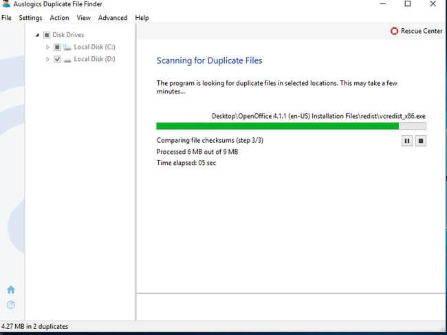 duplicate file scanner