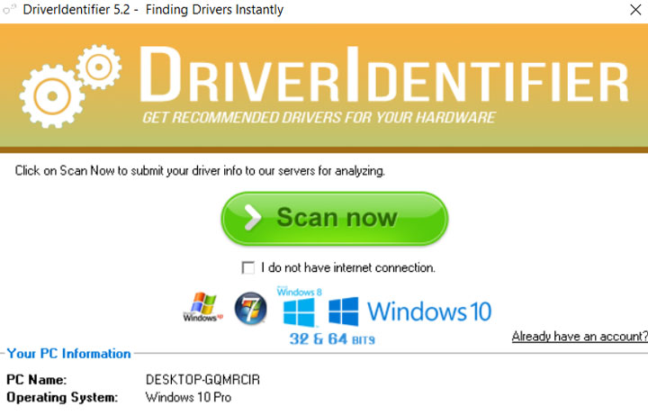 Driver Identifier 5.2 Review- Free Driver Updater Program Windows 10