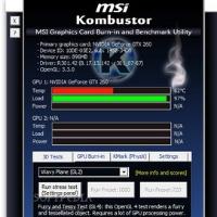 MSI Kombustor GPU benchmark tool