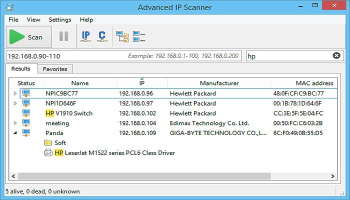 Advanced IP Scanner Download