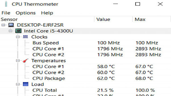 CPU Thermometer Free Download