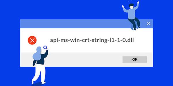 Fix api-ms-win-crt-string-l1-1-0.dll missing error