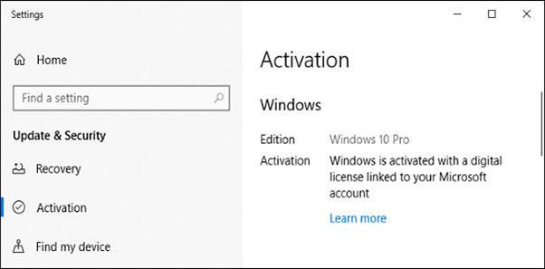 Free Windows 10 activation key