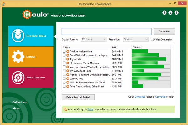 Houlo Video Downloader