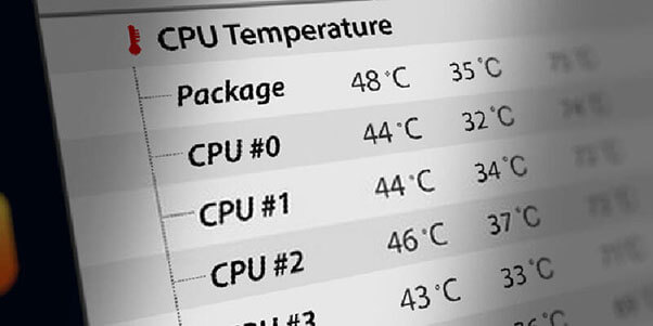 What should be the Normal CPU Temperature range