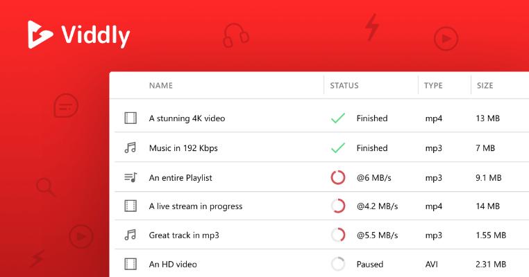 Viddly YouTube Downloader Converter Free Download Full Version