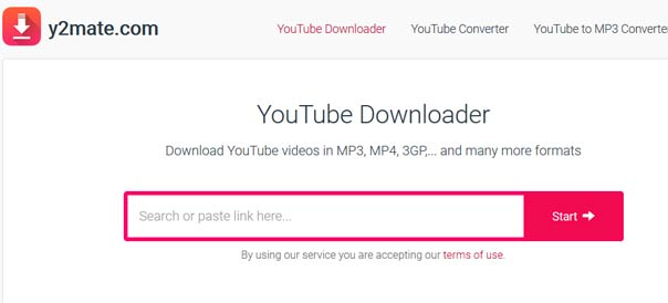 Y2matecom - Online YouTube Video Downloader Y2 mate com -