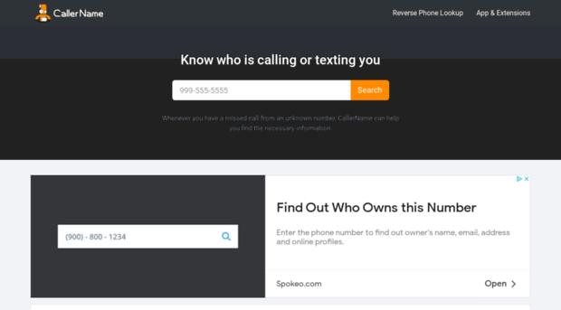Caller Name Screenshot