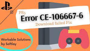 How To Fix PS5 Error Code CE-106667-6