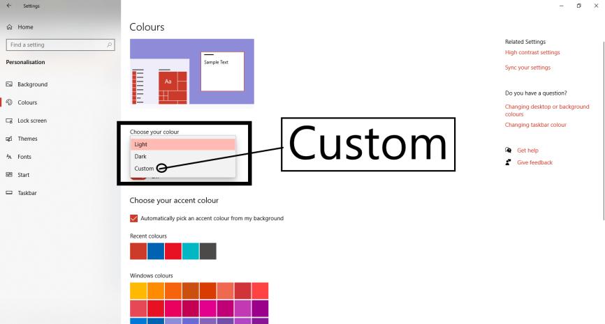 How to Change the Taskbar Color in Windows 10. Customize Your Taskbar in (2 Simple Ways)