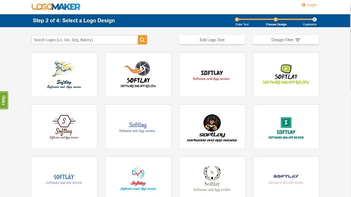 Logo Maker Screenshort