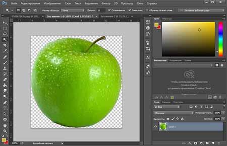 Как создать слой в Фотошопе Как сделать прозрачный фон в