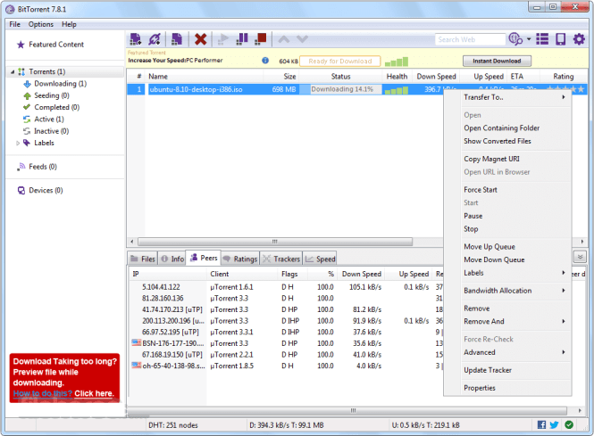 BitTorrent 7.10.3 Build 44397 Crack