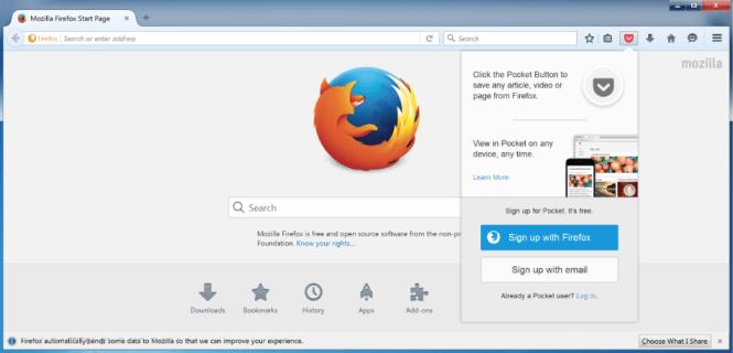 Firefox 64-bit 59.0.3 Crack
