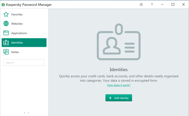 Kaspersky Password Manager 9.0.1.447 Crack