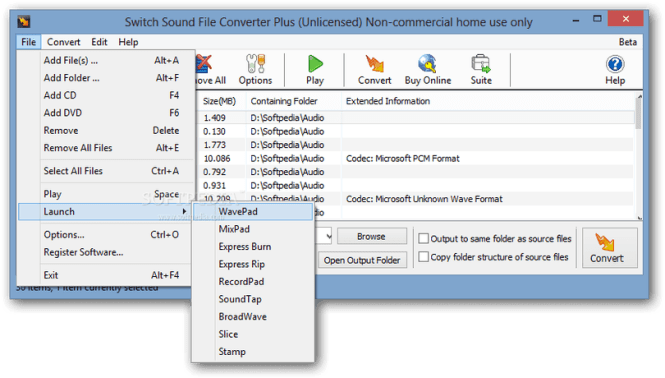 Switch Sound File Converter 6.19 Crack
