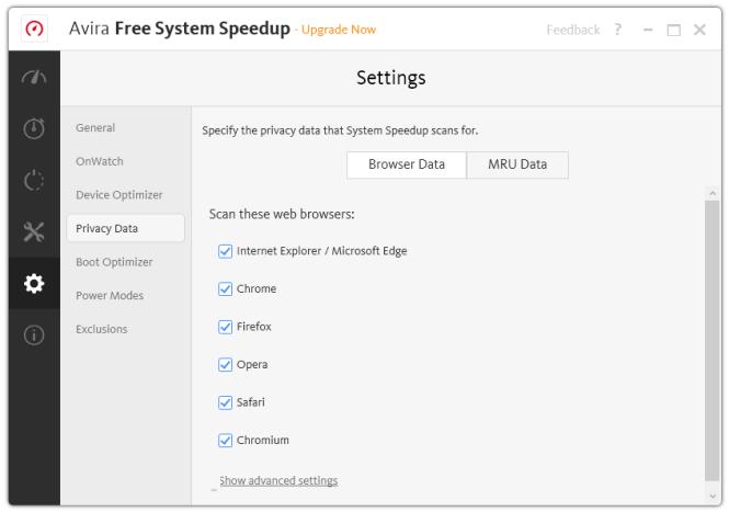 Avira Free System Speedup 4.11.0.7631